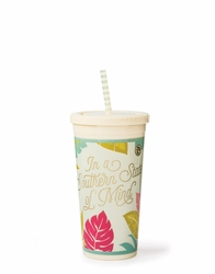 Southern State Of Mind Insulated Drink Tumbler - Oh So Witty Spartina 449