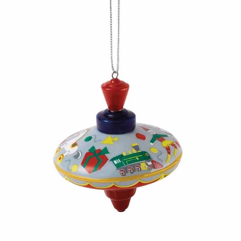 - Spinning Top Nostalgic Christmas Ornament By Royal Doulton
