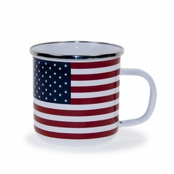 Stars & Stripes 12 oz. Mug by Golden Rabbit