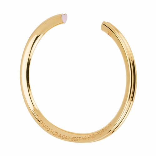Stella Valle Bridesmaid Gold Bracelet