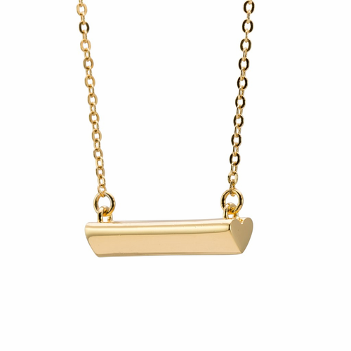 Stella Valle Heart Gold Necklace