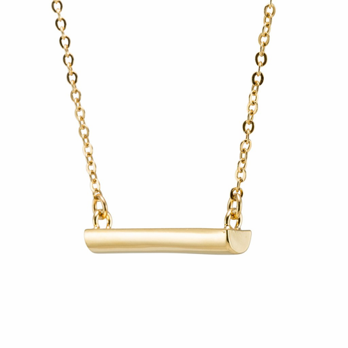Stella Valle I Am a Woman Warrior Gold Necklace