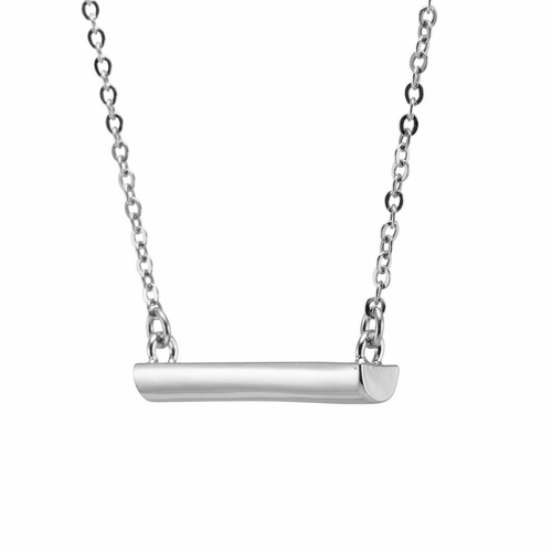 Stella Valle I Am a Woman Warrior Silver Necklace