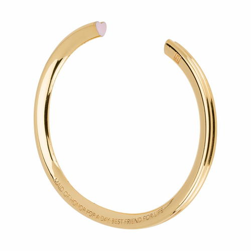 Stella Valle Maid of Honor Gold Bracelet