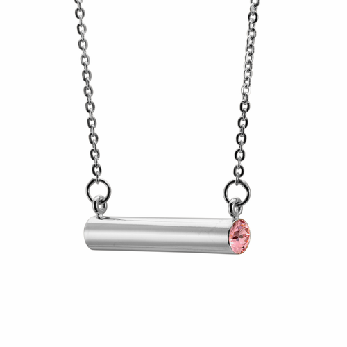 Stella Valle October Inspiration + Creativity Silver Necklace
