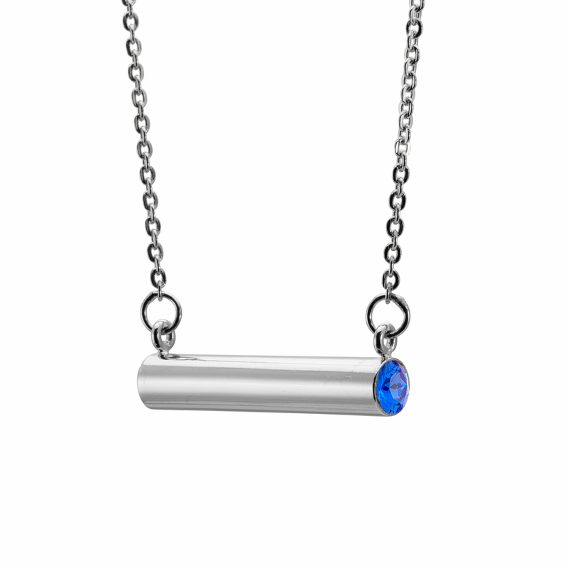 Stella Valle September Loyalty Trust Silver Necklace