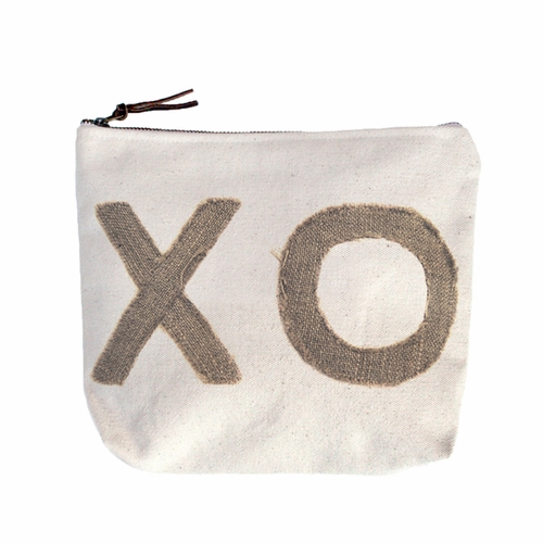 Stitched XO Canvas Bag by Sugarboo Designs