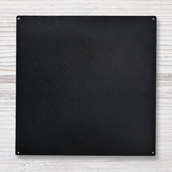 "Straight Edge Memo Board Black 16 X 16""  - Roeda"
