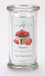 Strawberry Large Apothecary Jar Kringle Candle | Large Apothecary Jar Kringle Candles
