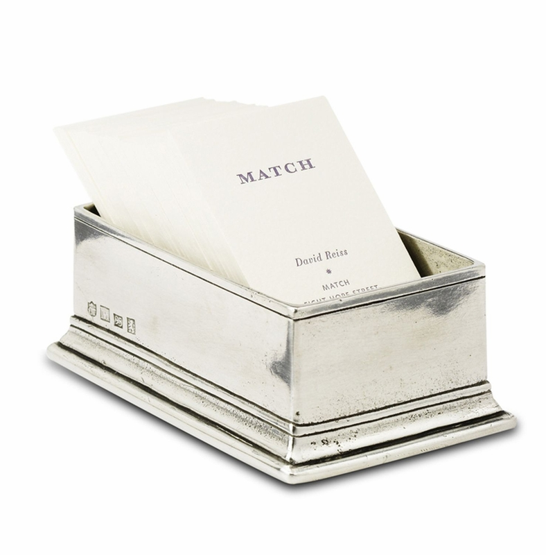 Sugar Packet/Business Card Holder by Match Pewter