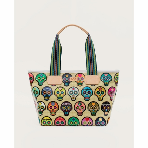 Sugar Skulls Legacy Shopper Tote by Consuela