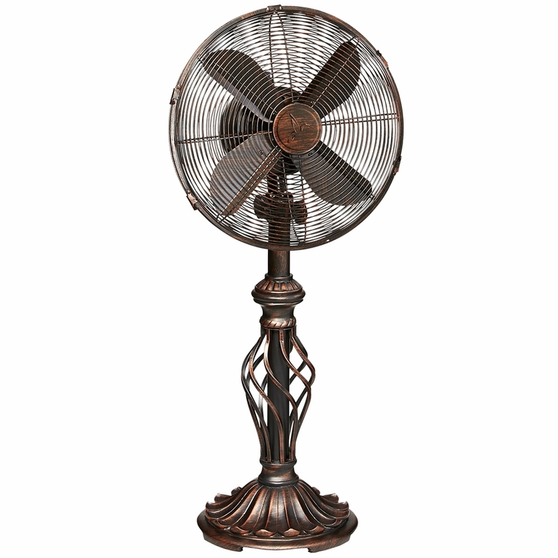 Best Table Top Fan : Table top fan prestige rustica