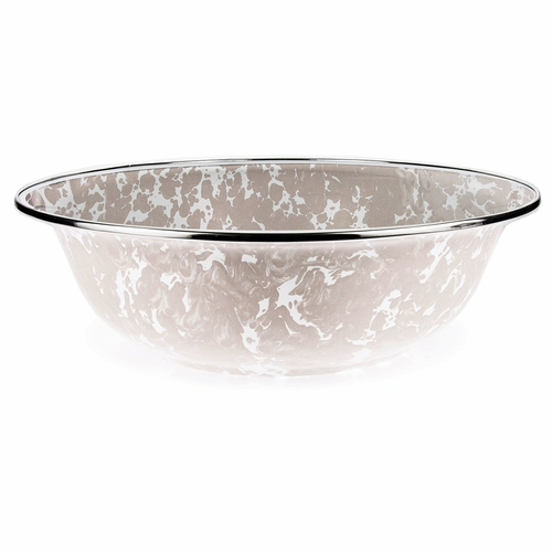 Taupe Serving Bowl by Golden Rabbit