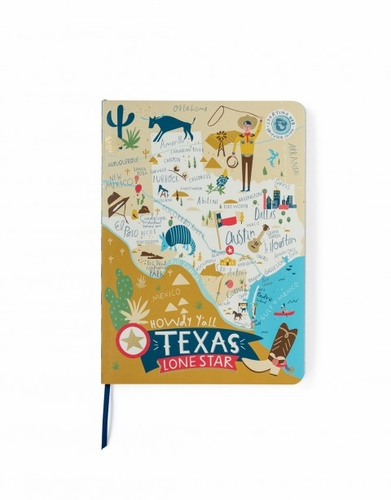Texas Ruled Notebook - Oh So Witty by Spartina 449