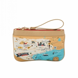 Texas Zip Wristlet - Oh So Witty by Spartina 449