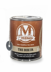 The Biker 15 oz. Paint Can MANdle by Eco Candle Co.