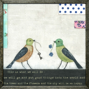 This Is What We Will Do Art Print Collection by Sugarboo Designs