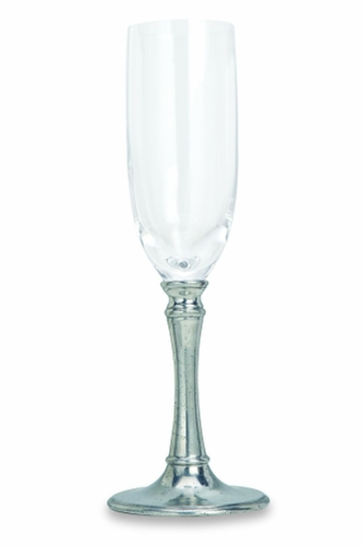 Tosca Champagne Glass by Match Pewter