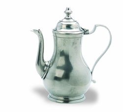 Traditional Coffee Pot by Match Pewter