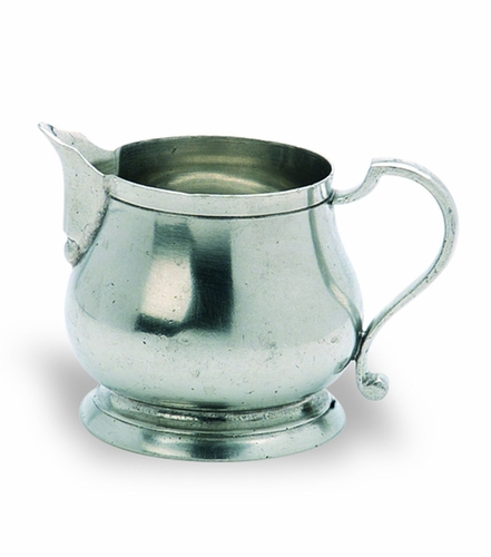 Traditional Milk Pitcher by Match Pewter