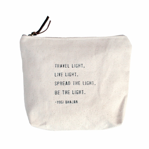 Travel Light Canvas Bag by Sugarboo Designs