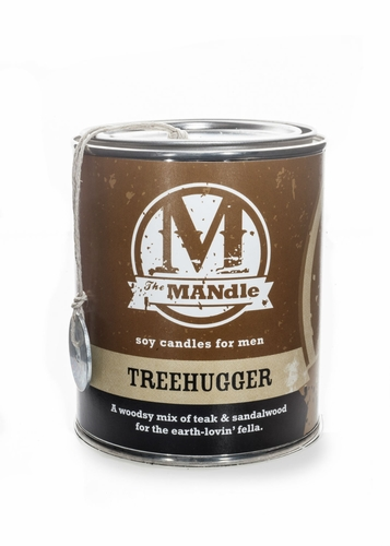 Treehugger 15 oz. Paint Can MANdle by Eco Candle Co.