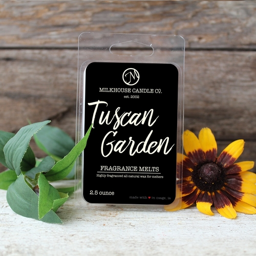Tuscan Garden Fragrance Melt by Milkhouse Candle Creamery