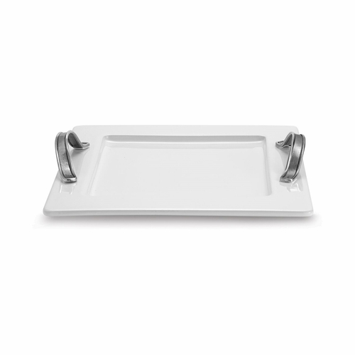 Tuscan Square Serving Tray - Arte Italica