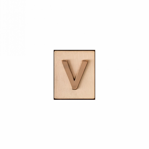 """V"" AKA Monogram Letter & Icon Spacer by Spartina 449"