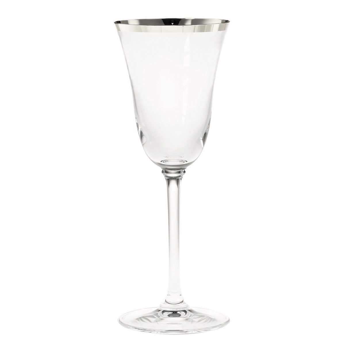 Vera Wang Classic Platinum Banded Goblet By Wedgwood