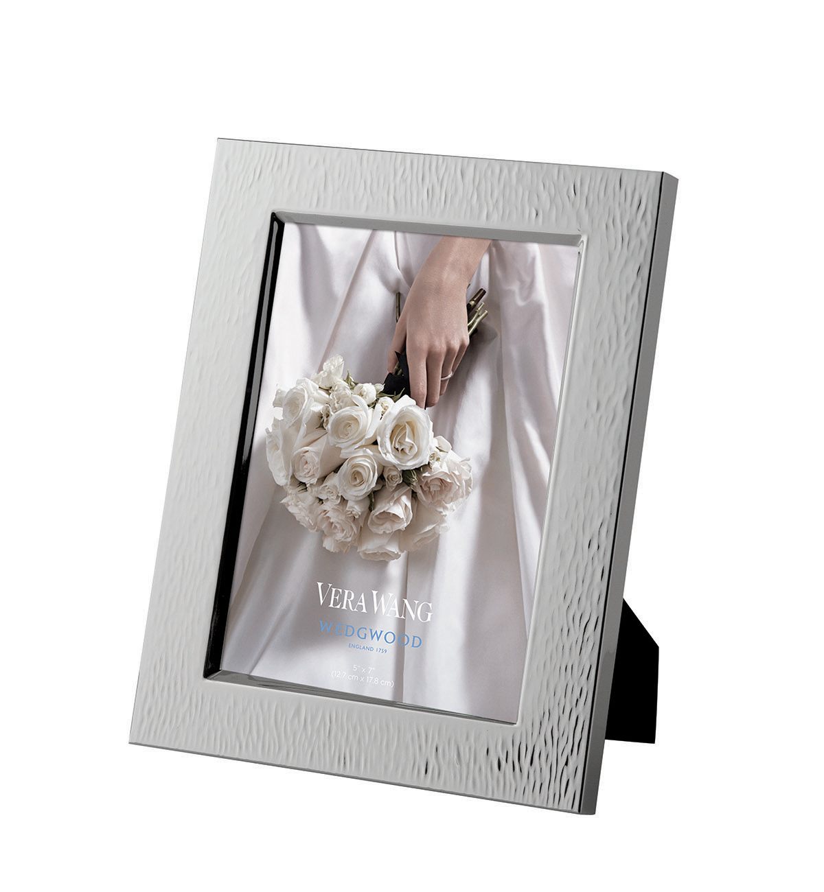 Vera Wang Hammered 5x7 Frame by Wedgwood
