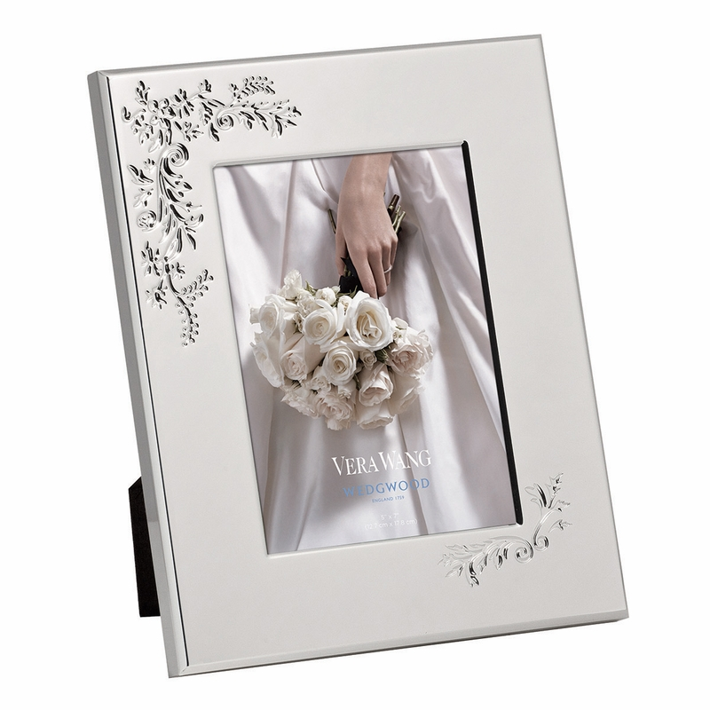 Vera Wang Vera Lace Bouquet 5x7 Frame by Wedgwood