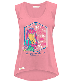 Watch the Sea Lantern Flamingo Tank Topby Simply Southern