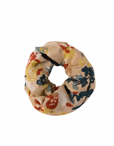 Watercolor Floral Infinity Scarf by Spartina 449