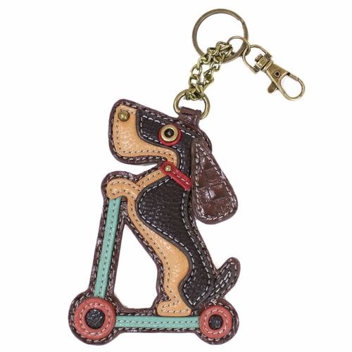 WD Scooter Key Fob/Coin Purse