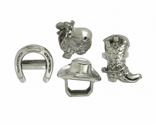 Western Napkin Rings by Arthur Court - Special Order