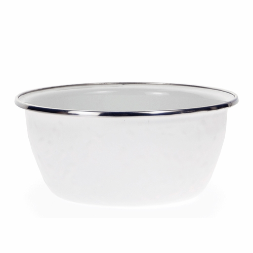 Set of 4 - White Salad Bowl by Golden Rabbit