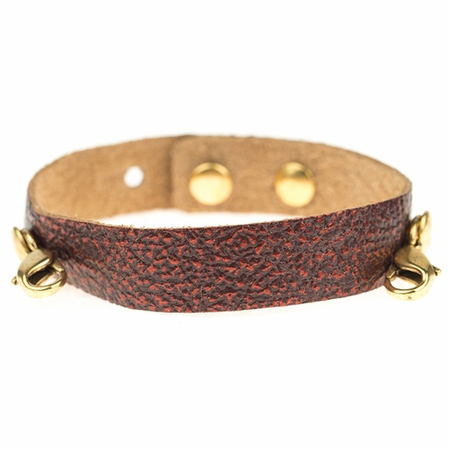 Wine Refined Classic Cuff- Antique Gold - Lenny & Eva