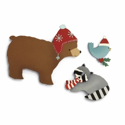 Winter Animal Magnets - Set of 3 Assorted - Embellish Your Story