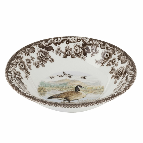 Woodland Canada Goose Ascot Cereal Bowl by Spode