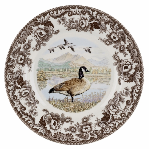 Woodland Canada Goose Dinner Plate by Spode