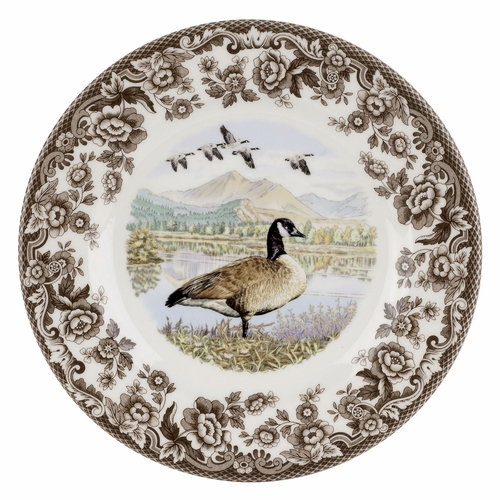 Woodland Canada Goose Salad Plate by Spode