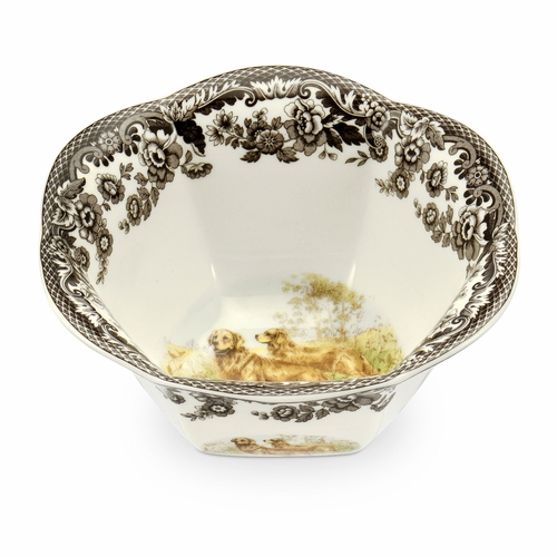 Woodland Golden Retriever Nut Bowl by Spode
