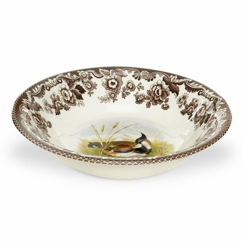 Woodland Lapwing Ascot Cereal Bowl by Spode