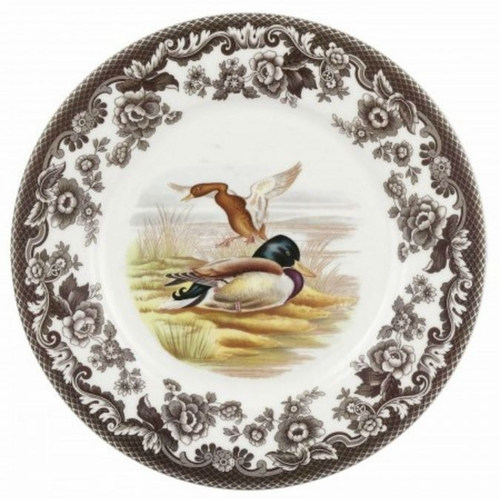 Woodland Mallard Luncheon Plate by Spode