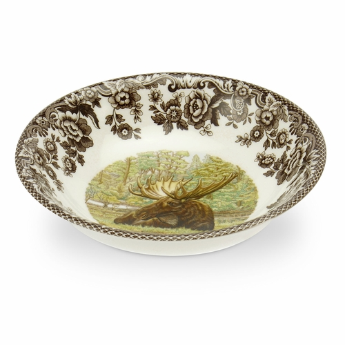 Woodland Moose Cereal Bowl by Spode