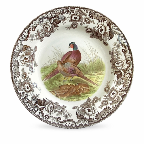 Woodland Pheasant Dinner Plate by Spode