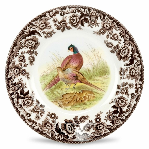 Woodland Pheasant Salad Plate by Spode