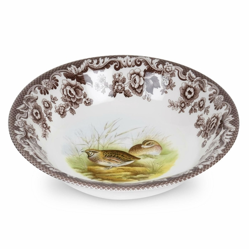 Woodland Quail Ascot Cereal Bowl by Spode
