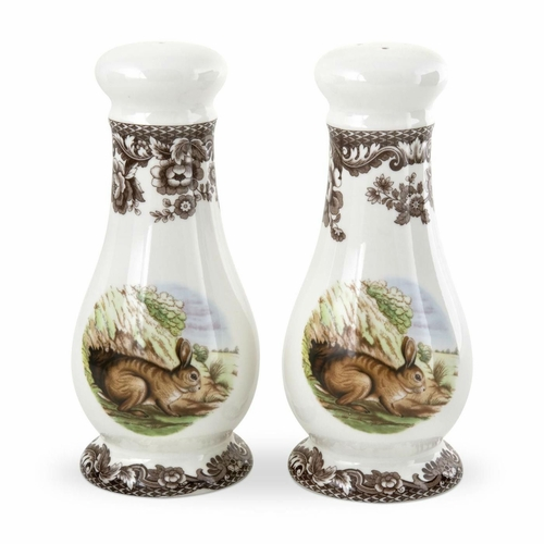 Woodland Rabbit Salt And Pepper Shakers by Spode